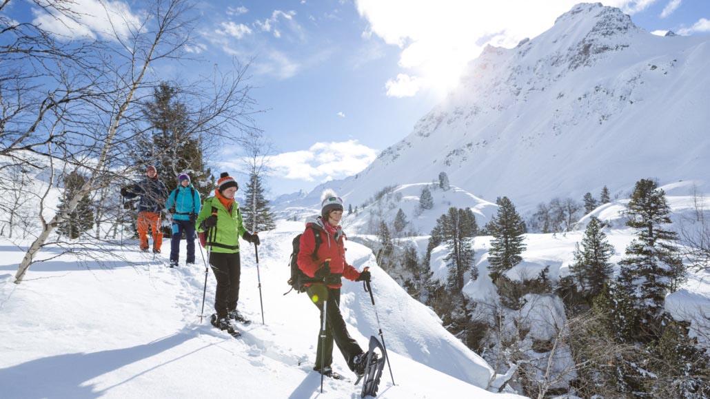 Schneeschuhwandern Bielerhöhe
